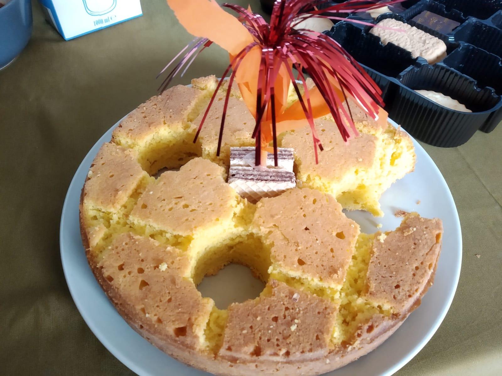 Cake van mijn Nichtje Nora voor mijn verjaardag