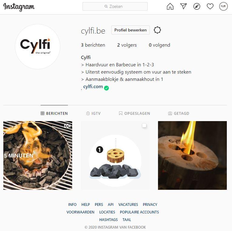 Volg Cylfi op Instagram